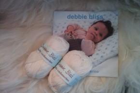 """""""Fiskebeinlue"""" og Debbie Bliss"""